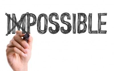 Believe The Impossible Is Possible